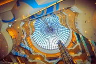 """The """"Blue City"""" shopping mall in Ochota district"""