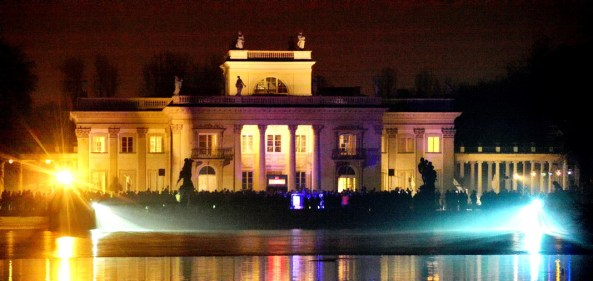 Palace on the Water in Lazienki Royal Park